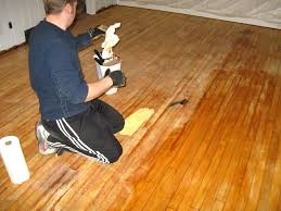 pine wood floor family style living