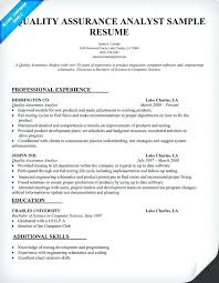 sample resume for quality control general maintenance technician