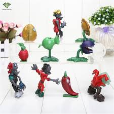 Plants Vs Zombies Cake Decorations Aliexpress Com Buy 10pcs Plants Vs Zombies Cake Topper Picks