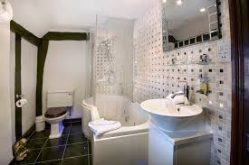 Bathroom Vanity Backsplash Ideas Enticing Small Jacuzzi Shower Combination With White Bathtub Using