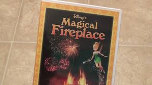 disney u0027s magical fireplace dvd unboxing youtube