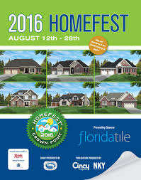 Fischer Homes Design Center Erlanger Ky by 2016 Homefest At Crown Point Show Guide By Home Builders
