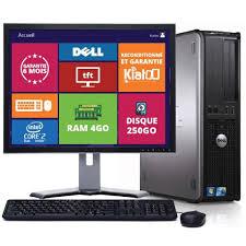ordinateur de bureau dell optiplex 380 2 duo pc reconditionné