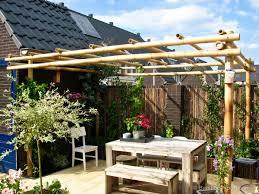 bamboo pergola kit 3 x 4 m pergola kits pergolas and deck footings