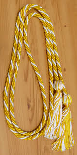 graduation cord gold white graduation honor cords 1 10 from graduation product 1