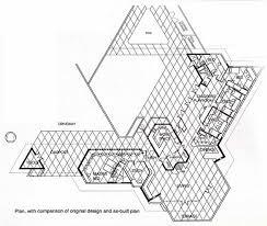 Kentuck Knob Floor Plan Plan Dr George Ablin House 1961 Bakersfield California