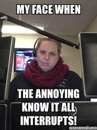 Annoying Coworker Meme - coworker