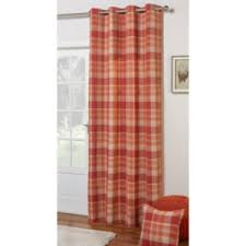 Pink Tartan Curtains Eyelet Curtains The Range