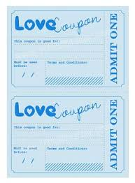 printable romantic gift certificates gift coupons now i don t have to make my own printables and