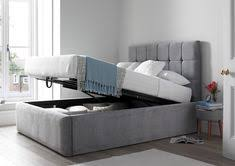 king size ottoman beds uk serenity upholstered ottoman storage bed grey bedroom