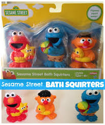 Elmo Bathroom Accessories Sesame Street Bath Squirters Sesame Streets Elmo And Bath