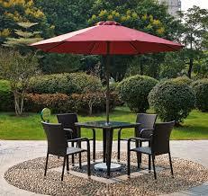 Sun Umbrella Patio Courtyard Garden Chairs Leisure Outdoor Sun Umbrellas Patio