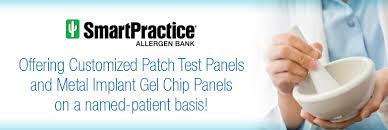 titanium allergy testing custom patch test panels allergen bank pharmacy smartpractice