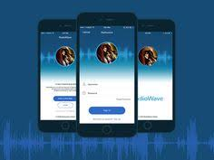 design application ios check out new work on my behance portfolio radiowave application