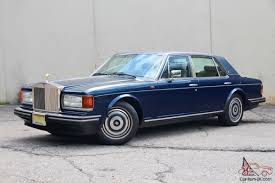 rolls royce silver spur rolls royce silver spur 35k perfect car leather interior owners books