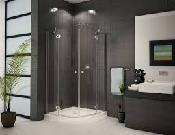 Bathroom With Corner Shower Corner Shower Units For Small Bathroom Solving Space Issues