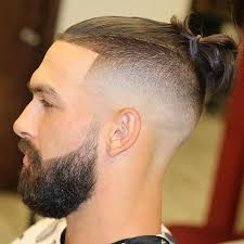 top knot hairstyle men 55 coolest short sides long top hairstyles for men men