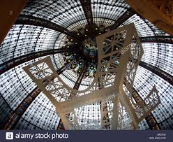 eiffel tower interior an interior view of paris famous shopping mecca galleries
