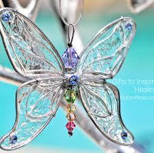 swarovski butterfly sun catcher inspirational butterfly