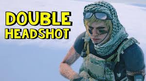 double headshot rainbow six siege youtube