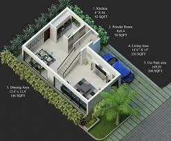 30 40 site house plan duplex