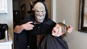 scary haircut prank youtube