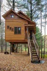 three house treehouse at moose meadow