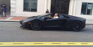 Black Lamborghini Aventador - matte black lamborghini aventador roadster at autostrade youtube