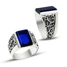 ring of men charm handmade men silver ring 7010 boutique ottoman jewelry store