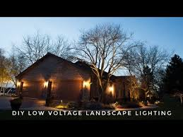 how to install low voltage landscape lighting diy do it yourself