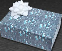 minecraft wrapping paper minecraft wrapping paper shop online best gift cool things