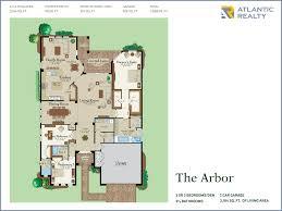 Antilla Floor Plan The Preserve At Emerald Hills New Miami Florida Beach Homes