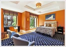 orange and blue bedroom colorful bedroom design part 6 home interior design 40483