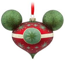 disney store ornaments the mouse and the monorail