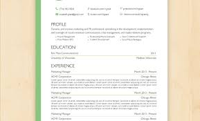 creative resume template download free resume template