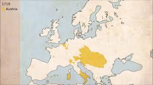 Austria Map Austria Timelapse Map 976 2017 Youtube