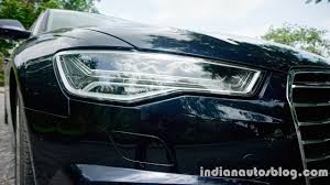 audi a6 headlights audi a6 matrix first drive review