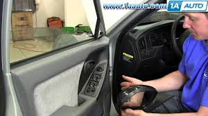 how to install replace side rear view mirror 2001 06 hyundai