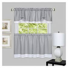 Jc Penny Kitchen Curtains by Gray Kitchen Curtains For Window Jcpenney