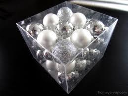 diy rhinestone polka dot ornaments homey oh my
