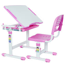 Kid Desk And Chair Vivo Height Adjustable Children S Desk And Chair Set