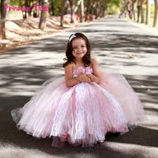 light pink flower dresses lace tulle flower dresses light pink girls pageant wedding ball