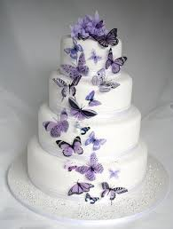 butterfly wedding cake 20 mauve butterflies for cakes and decorations 2574821 weddbook