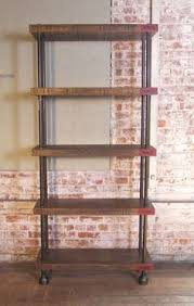 Kitchen Metal Shelves by Industrial Iron Rustic Reclaimed Wood Buffet Kitchen Storage