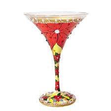 martini holiday holiday glasses wine glasses com