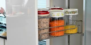 how to store food in a cupboard what to put where in the kitchen food