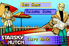 Starsky And Hutch The Game Starsky U0026 Hutch Game Boy Advance The Cutting Room Floor