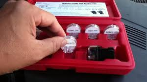 noid lite test kit demonstration for fuel injector testing