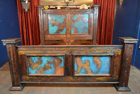 Southwest Bedroom Furniture Southwest Style Bedroom Hacienda Copper Bed Demejico