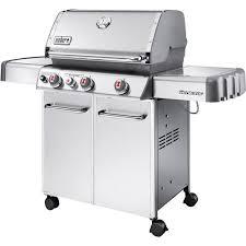 black friday weber grill sales weber genesis s330 38 000 btu 3 burner lp gas grill with side